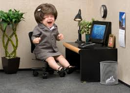 office tantrum
