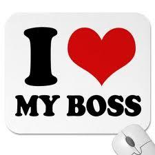 I love me boss