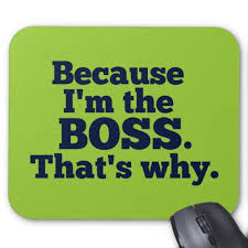 because I'm the boss 2