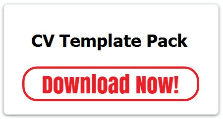CV template pack