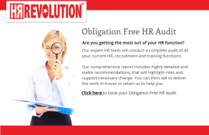 HR Revolution - HR Audit - HRRevolutionshop.co.uk