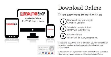 HR Revolution - Shop Online - HRRevolutionshop.co.uk