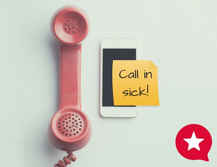 call in sick - hr revolution - outsourced hr