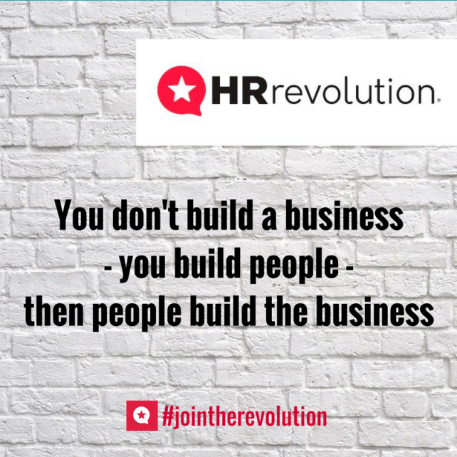 People build your business - outsourced hr - hr revolution